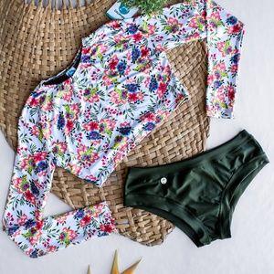 Other - Swimwear Bikini Bathing suit longsleeve